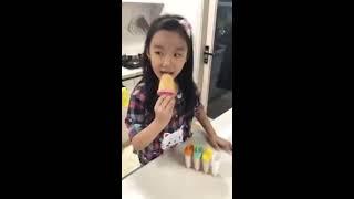 써니의 요구르트 아이스크림 만들기!
