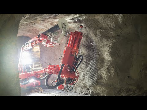 Managing rockburst in underground mines - surface support in tunnels