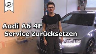 VCDS Audi A6 Service zurückstellen |  Audi A6 Sercive Reset  |  Tutorial