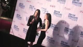 2008 New Music Awards / Jill Criscuolo (Nominee) Nov 22 Avalon  Hollywood CA.
