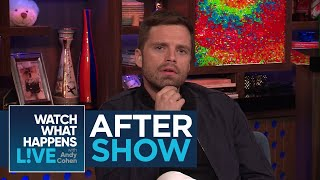 After Show: Sebastian Stan Was Concerned For Tom Hiddleston Dating Taylor Swift | WWHL thumbnail
