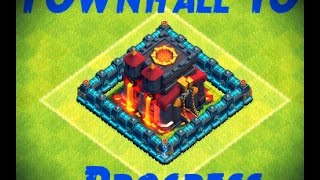 Clash of Clans: My Townhall 10 Base Progress & What To Do at Townhall 10 ll Maxing Townhall 10 #2