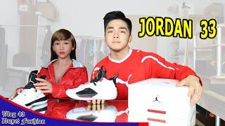 Jordan 33 kéo thả – Giày bóng rổ ĐỘC NHẤT của tương lai   CÔNG NGHỆ MỚI   Vlog 43 - Duyet Sneaker