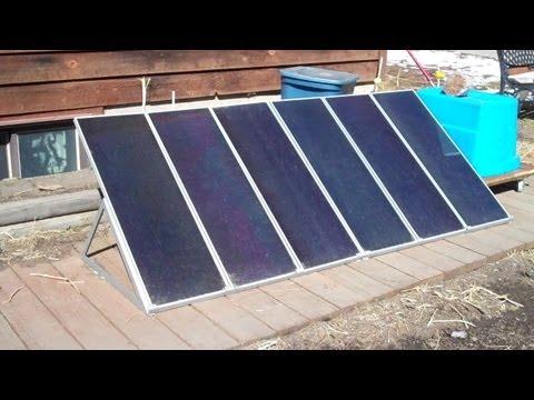 Harbor freight solar panel kit update.