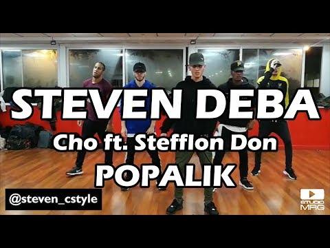 Popalik - Cho ft. Stefflon Don | Studio MRG | STEVEN DEBA
