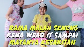 EAT IT OR WEAR IT CHALLENGE KIDS INDONESIA FT AULIA & RAMA