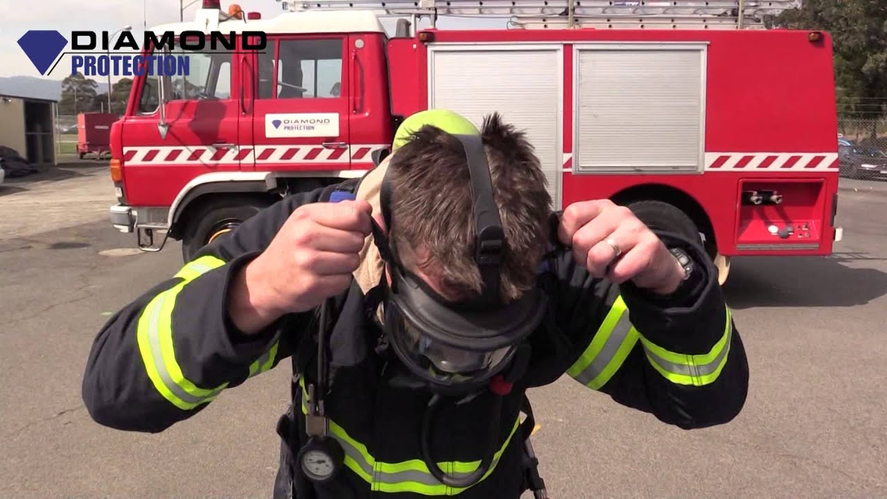 hight resolution of scba how to operate breathing apparatus firefighters