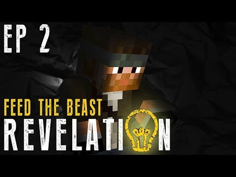 Exploding a New Base | FTB Revelation Ep 2