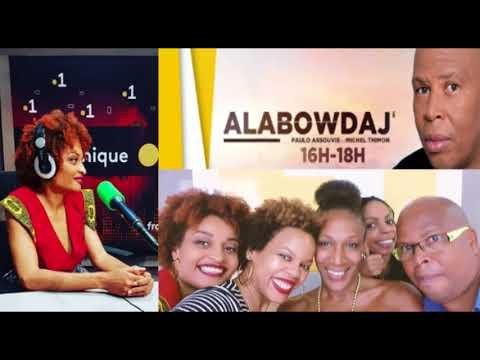 ALABOWDAJ sur Martinique première (radio)