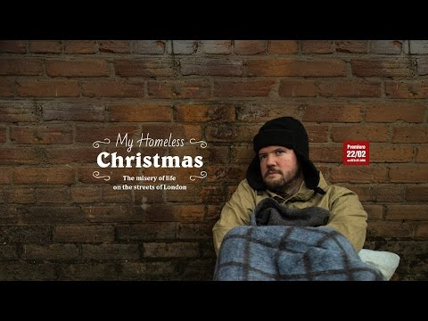My Homeless Christmas: The misery of life on the streets of