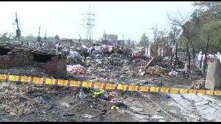 Fire Leaves 1,500 Homeless In India Slum