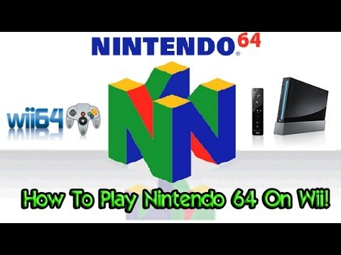 How To Play Nintendo 64 Games On Wii! - Wii64 Emulator ...