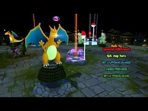 League Of Legends Pokémon Full Map Mod By IpawnprozNetwork - Sneak Peek Footage