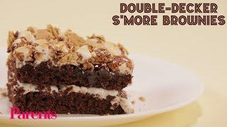 Double-Decker Smore Brownies Recipe   Parents