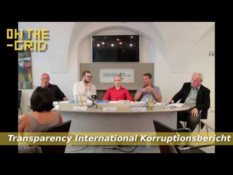 Wie korrupt ist Österreich? - Transparency International (Podcast), On The Grid Ep. 113