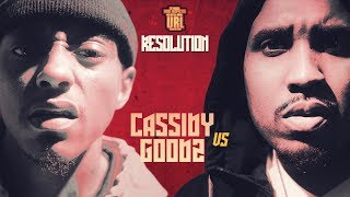 CASSIDY VS GOODZ RAP BATTLE | URLTV video thumbnail