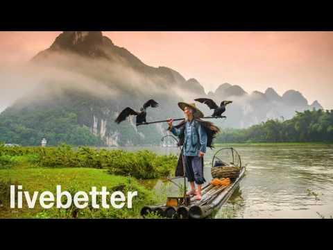 Musica cinese tradizionale tipica folk strumentale rilassante