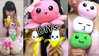 3 Room Decor DIYs: DIY Dango Plush Pillow + DIY Octopus Plush + DIY Banana Plush