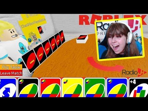 Playing Roblox Uno With Chad Ryan Radiojh Games Roblox Uno With Gamer Chad Radiojh Games Youtube