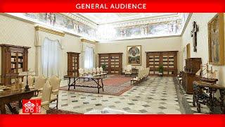 April 21 2021 General Audience Pope Francis ASL
