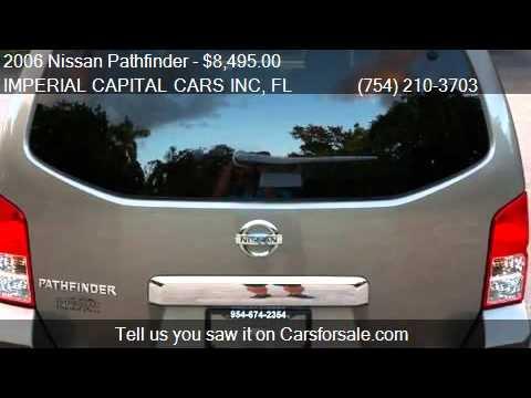 2006 Nissan Pathfinder SE/ 3rd Row Seats/ Great Gas Mileage