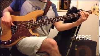 Guthrie Govan Wonderful Slippery Thing bass lesson