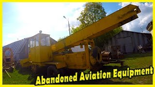 Exploring Abandoned Aviation Equipment in Kiev 2018. Forgotten Aviation Equipment Found