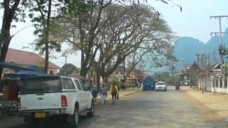 My Road Trip from Vientiane to Luang Prabang, Laos 2014