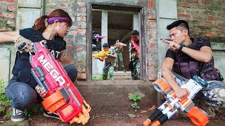 LTT Nerf War : SEAL X Warriors Nerf Guns Fight Attack Criminal Group Special Tasks