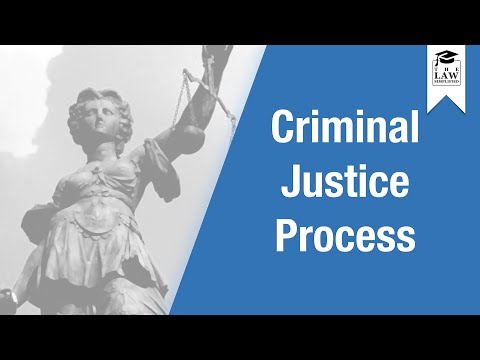 English Legal System - Criminal Justice Process