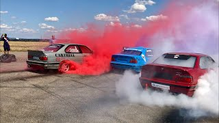 Biggest Czech Burnout #KRSTDRFT drift lifestyle vlog #247