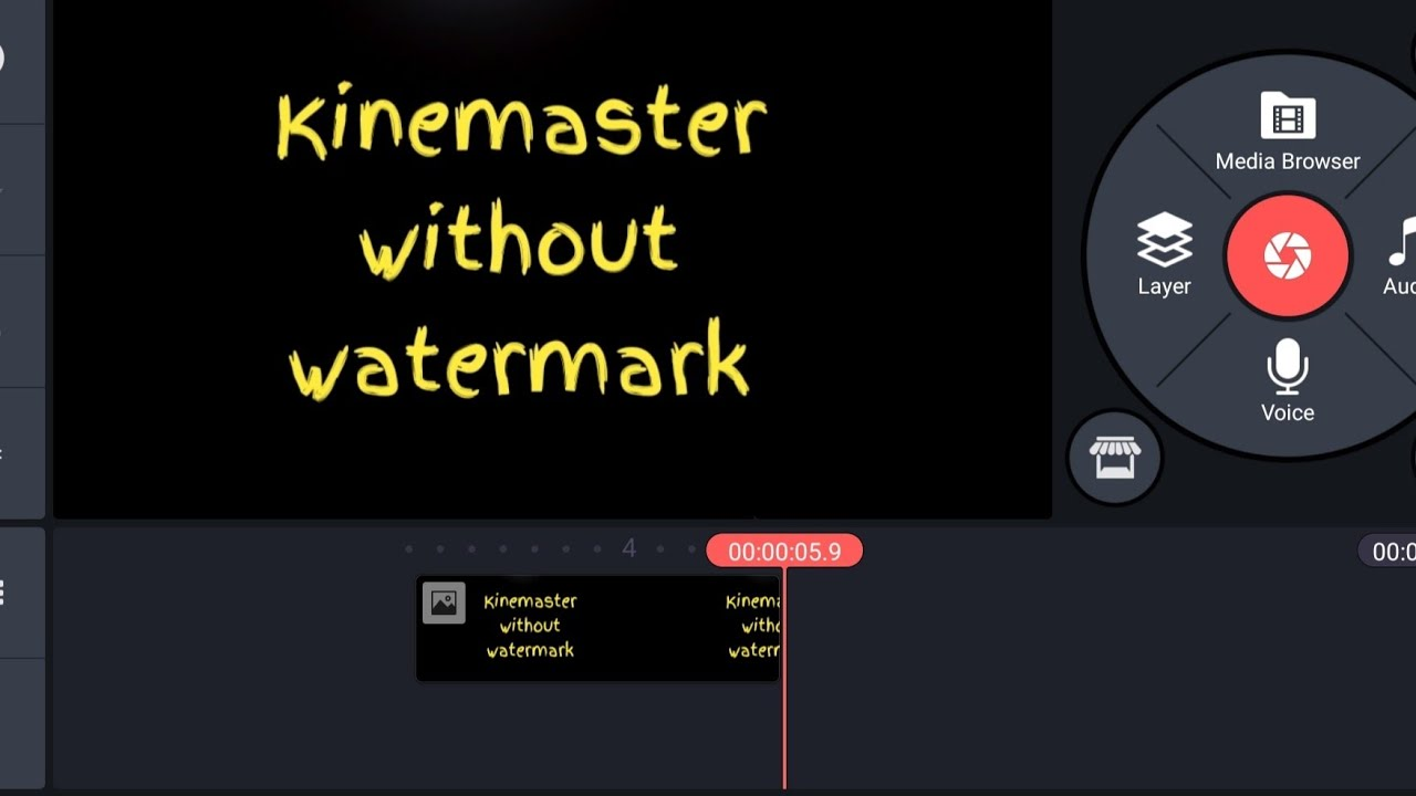 kinemaster without watermark 2020 kinemaster without watermark download Best video editor