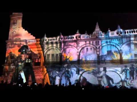 Festejo del 495 aniversario de la fundación del Puerto de Veracruz