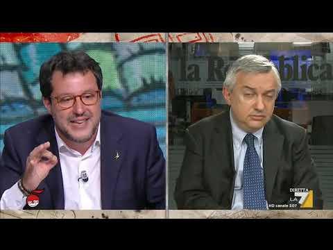 Salvini a diMartedì: 'Dall'Europa sono 3 mesi che sentiamo promesse'