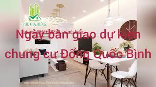 Dự kiến ngày bàn giao căn hộ chung cư Hoàng Huy Đổng Quốc Bình