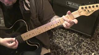 Travis Tritt - Honky Tonk Woman - CVT Guitar Lesson by Mike Gross