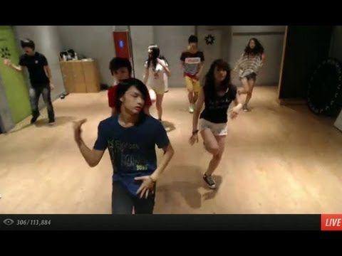 130725 'Call Me Maybe' dance practice Pt. 1