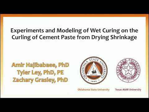 Impact of Wet Curing on the Curling of Cement Paste from Drying Shrinkage