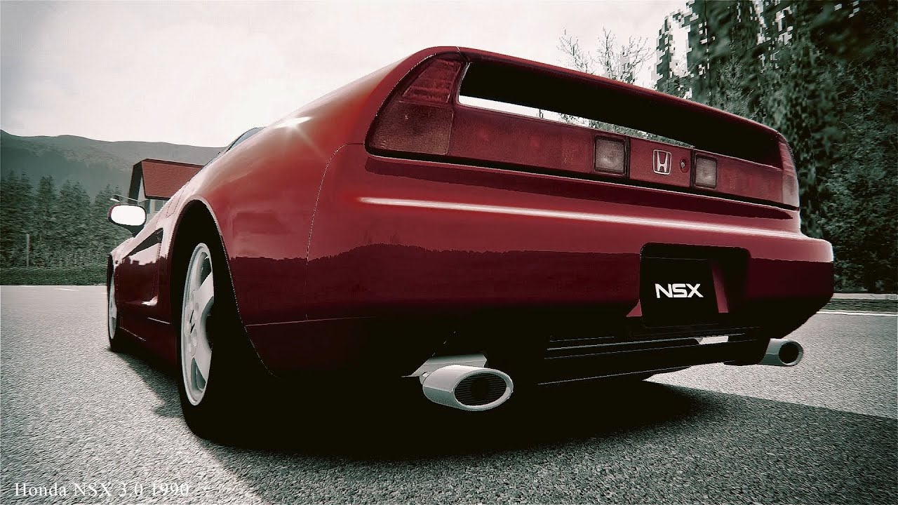assetto corsa honda nsx 3 0 1990 exhaust sound youtube. Black Bedroom Furniture Sets. Home Design Ideas