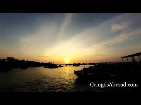 Galapagos Sunrise Timelapse: Dock on Isabela Island