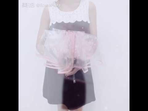 Blue/Pink Sakura Sun-Rain 3 Fold Clear Umbrella SP167530