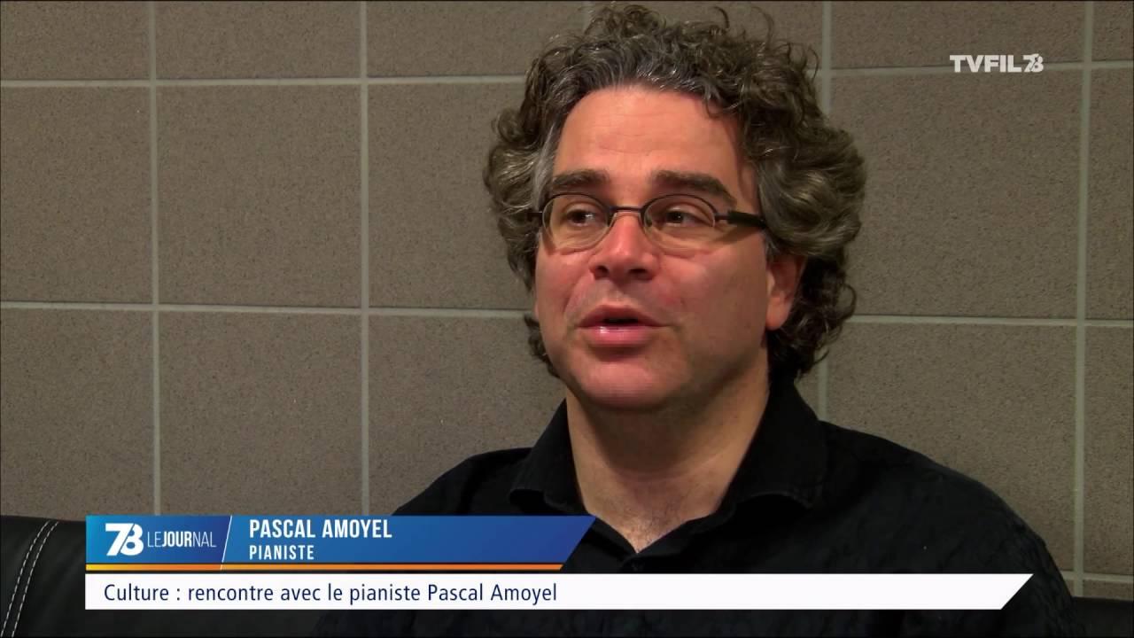 Culture : rencontre avec le pianiste Pascal Amoyel