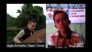 Asal Kau Bahagia - Armada_Cover Sape' (Riski Hariadi feat Uyau Moris)_ Salam  Budaya
