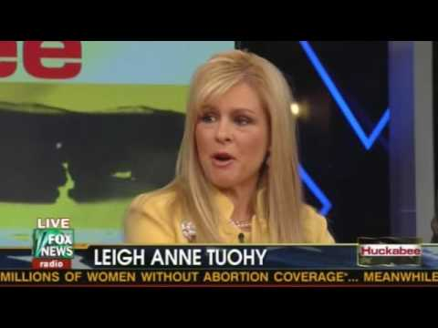 Huckabee Interview with the Tuohy family who adopted Michael Oher - Blind Side 1