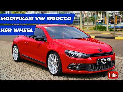 Modifikasi Volkswagen Scirocco Menggunakan HSR Wheel