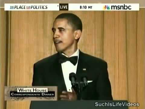 President Obama Roasts Donald Trump At White House Correspondents' Dinner! - YouTube
