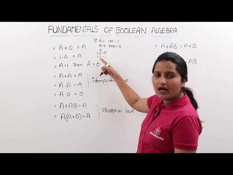 Fundamentals Of Boolean Algebra