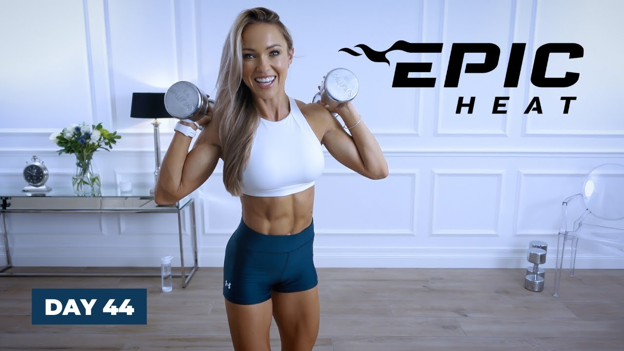 Download FEEL THE HEAT No Repeat Full Body Workout - CARDIO   EPIC Heat - Day 44