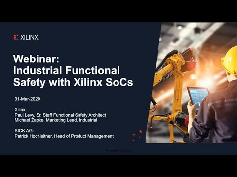 Industrial Functional Safety With Xilinx SoCs