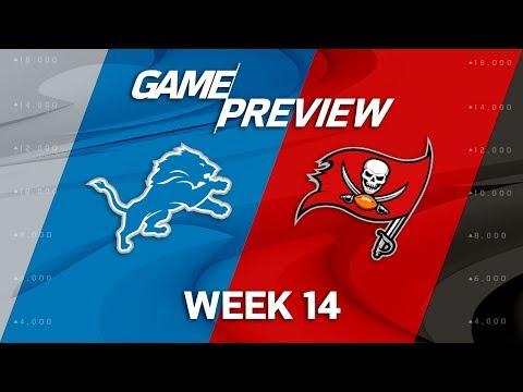 Detroit Lions vs. Tampa Bay Buccaneers   NFL Week 14 Game Preview   NFL Playbook